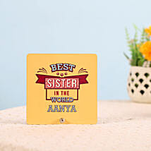 Best Sister Table Top: