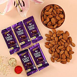Bhaidooj Choco Hamper: Send Bhai Dooj Chocolates