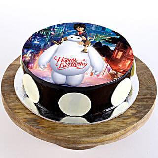 Big Hero Chocolate Photo Cake: Cartoon Cakes
