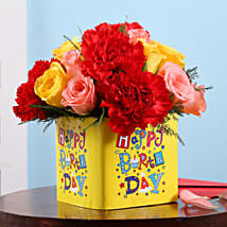 Birthday Floral Surprise: Birthday Flowers