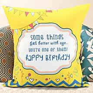 Birthday Message Cushion: Birthday Gifts for Boyfriend