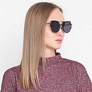 Black Cat Eye Women Sunglasses: Sunglasses