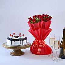Black Forest and Flowers: Valentine Gifts for Husband