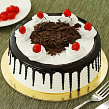 Black Forest Cake: Rakhi With Sweets Raigarh