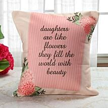 Bloom Like Flower Cushion: Daughter