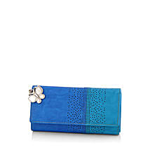 Butterflies Beautiful Blue Wallet: Handbag Gifts