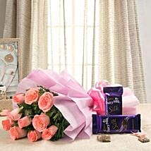 Cadbury Carnival EXFNP117: Flowers & Chocolates for Propose Day