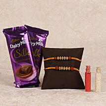 Cadbury Silk And Rakhi Combo: Rakhi to Anantnag