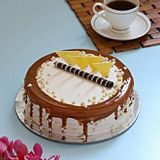 Caramel Cream Cake: Cakes for Birthday