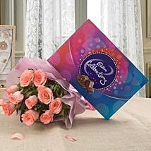 Celebration Combo: Flowers & Chocolates for Propose Day
