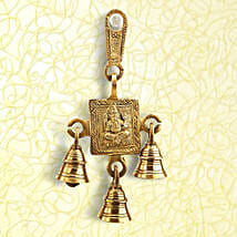 Chaturbhuj Brass Bell: House Warming