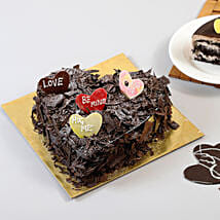 Choco Blast Love Cake: Designer Cakes to Mumbai