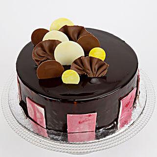 Choco Coin Truffle Cake: Send Chocolate Cakes to Jaipur