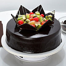 Chocolate Fruit Gateau: Cakes to Muzaffarpur