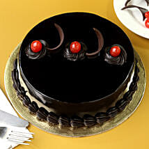 Chocolate Truffle Delicious Cake: New Year Cakes Dehradun