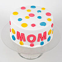 Colourful Mothers Day Cake: Cakes for Mother's Day