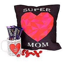 Comfort With Coffee Hamper: Womens Day Gift Hampers