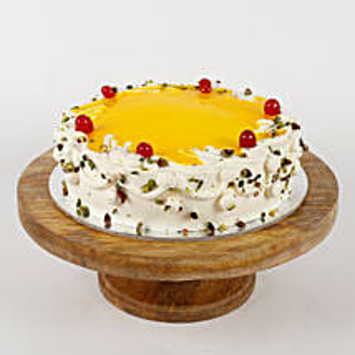 Cream Pista Cake: Pineapple Cakes