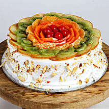 Creamy Vanilla Fruit Cake: Cake Delivery in Pune