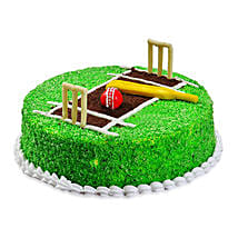 Cricket Pitch Cake: Send Designer Cakes to Gurgaon