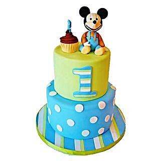 Cute Cartoon Cake: