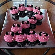 Cute Minnie Mouse Cupcakes: Send Cup Cakes