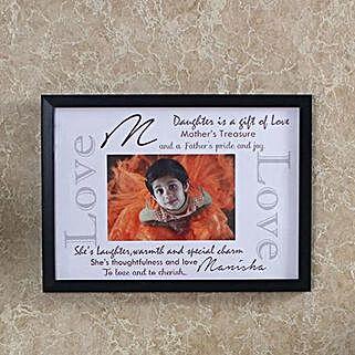 Cute Personalised Photo Frame: Birthday Personalised Photo Frames