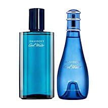 Davidoff Cool Water Men Women Deodorant Set: Send Perfumes