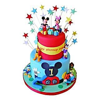 Dazzling Disney Cake: