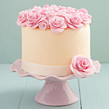 Decadent Floral Cake: Designer and Theme Cakes