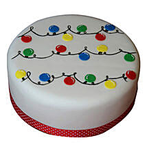 Decorative Christmas Fondant Cake: Christmas Gifts For Girlfriend In India