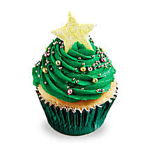 Decorative Christmas Tree Cupcakes: Send Cup Cakes
