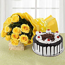 Delicious Bites and Flowers: Gifts for Friends