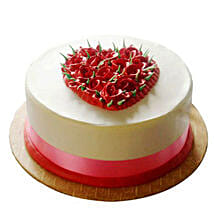 Desirable Rose Cake: Cakes to Bangalore