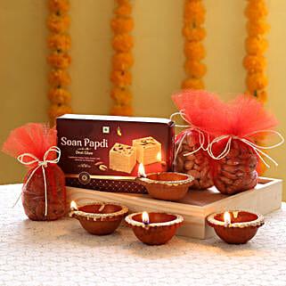 Dry Fruits Diwali Combo: Send Diwali Gift Hampers
