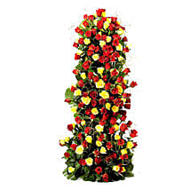 Endless Love- 100 Roses Floral Tower: Premium Gifts
