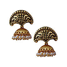 Estelle Dome Shaped Earrings: Impressive Gifts. Amazing Prices