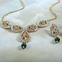 Evergreen Jewelry Set: Send Jewellery Gifts