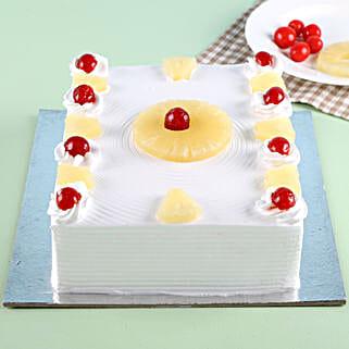 Exotic Pineapple Cake: