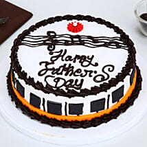 Fathers Day Gorgeous Piano Chocolate Cake: Cakes for Father's Day