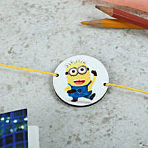 Favorite Minion Rakhi: Rakhi to Neyveli