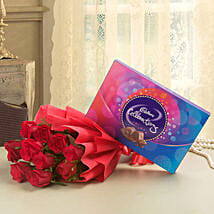 Flowery Celebrations: Chocolates for Fathers Day
