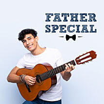 For Dad Special Guitar Tunes: Fathers Day Gift Delivery