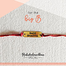 For Your Bade Bhaiya Quirky Rakhi & Card: Send Rakhi to Dhulian