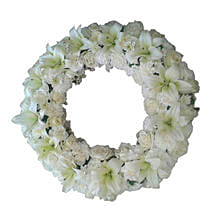 Fresh Flower Wreath: Flowers to Amravati