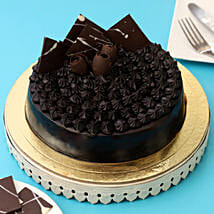Fudge Brownie Cake: Designer cakes for anniversary
