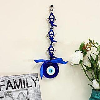 Ganesha Evil Eye Wall Hanging: Send Home Decor for Diwali