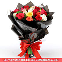 Glamorous Rose Bouquet: Valentines Day Roses