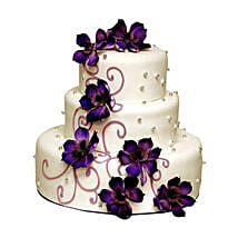 Glamorous Wedding Cake: Wedding Cakes to Indore