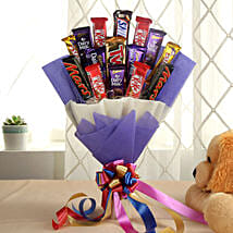 Glistening Choco Bouquet: Same Day Chocolate Delivery